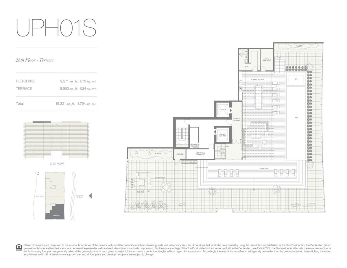 Oceana Bal Harbour - Floorplan 27