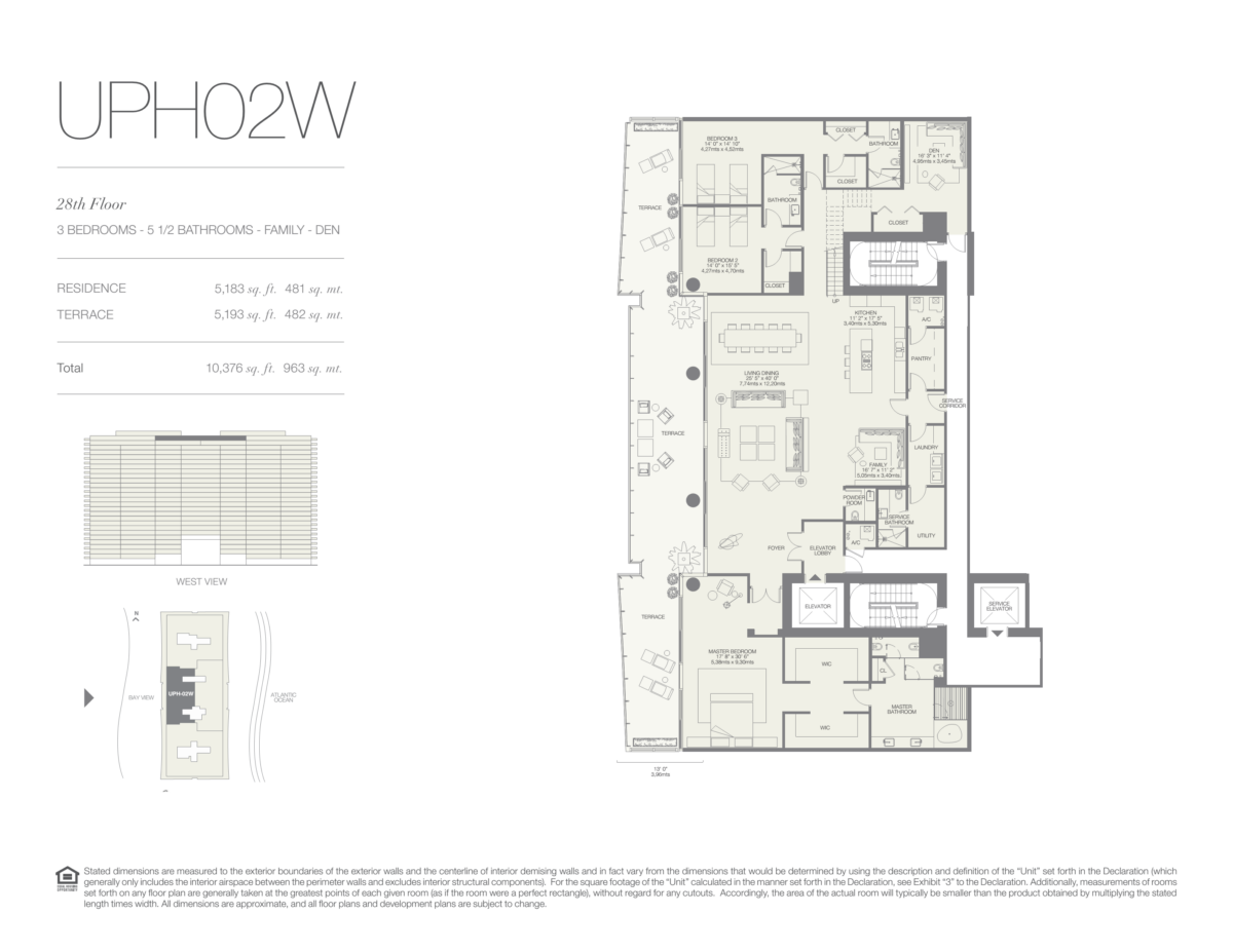 Oceana Bal Harbour - Floorplan 28