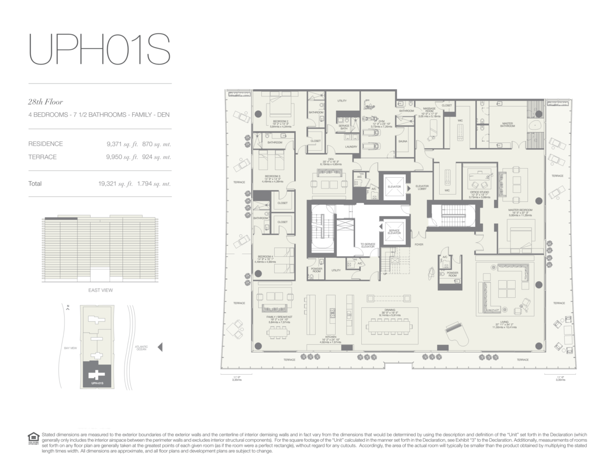 Oceana Bal Harbour - Floorplan 29