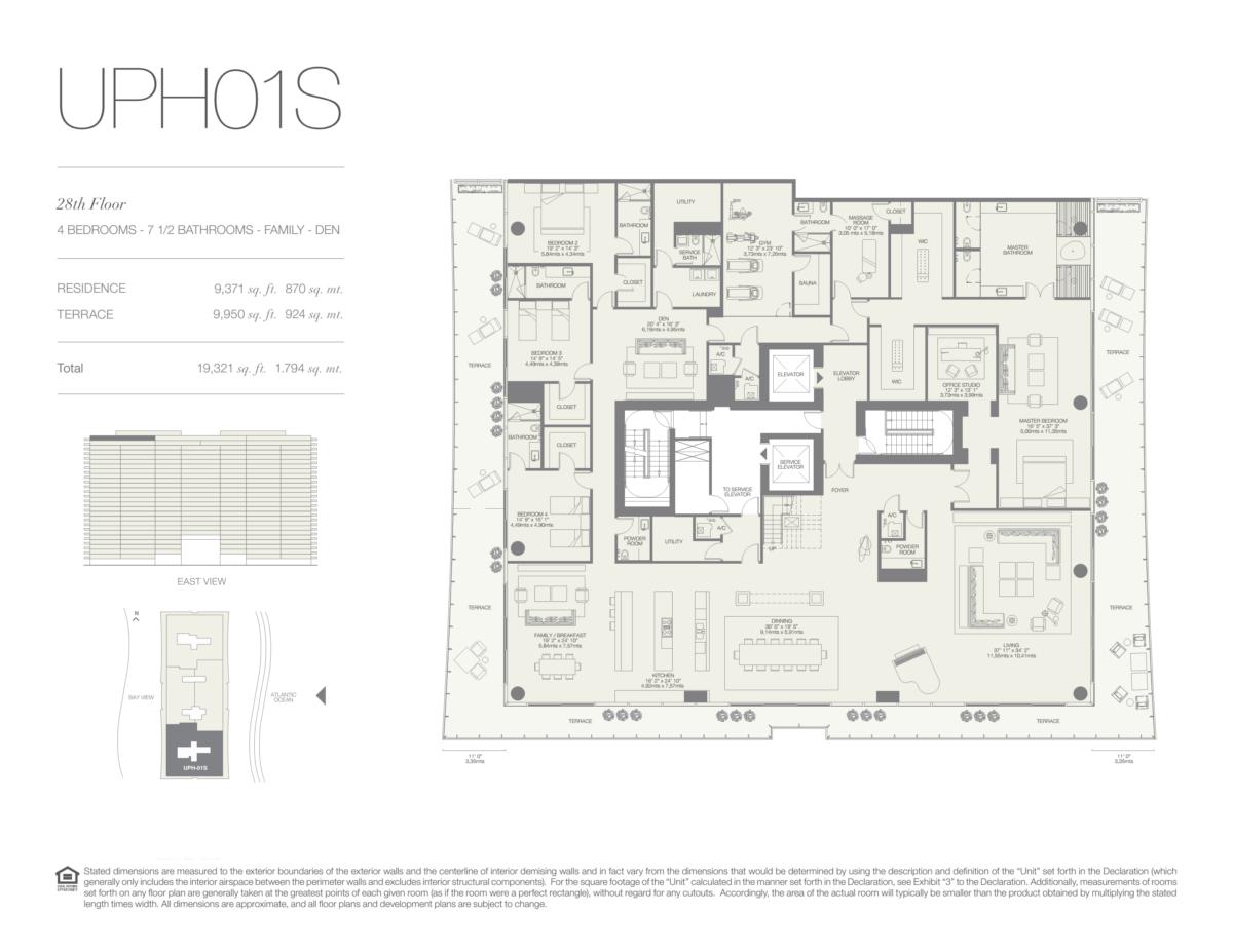 Oceana Bal Harbour - Floorplan 29