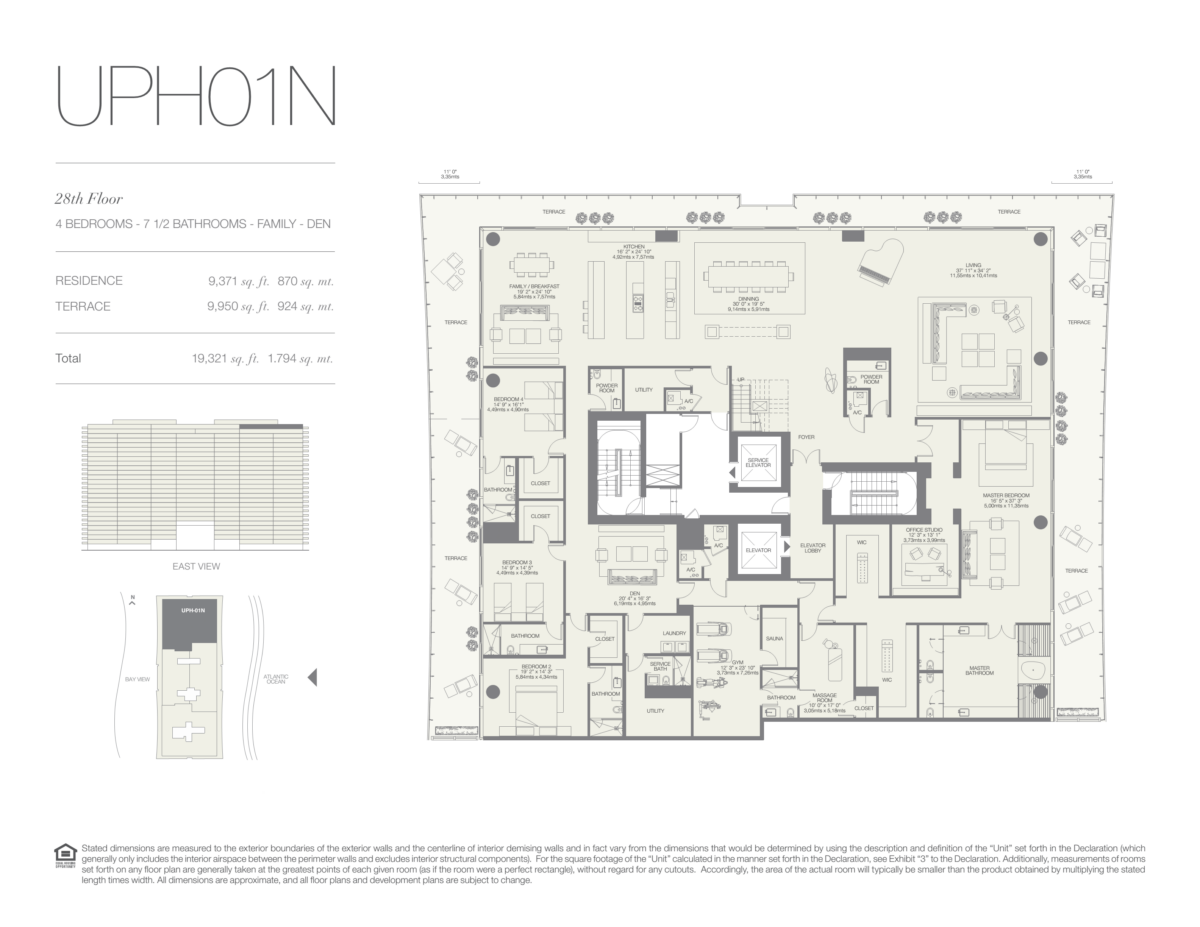Oceana Bal Harbour - Floorplan 30