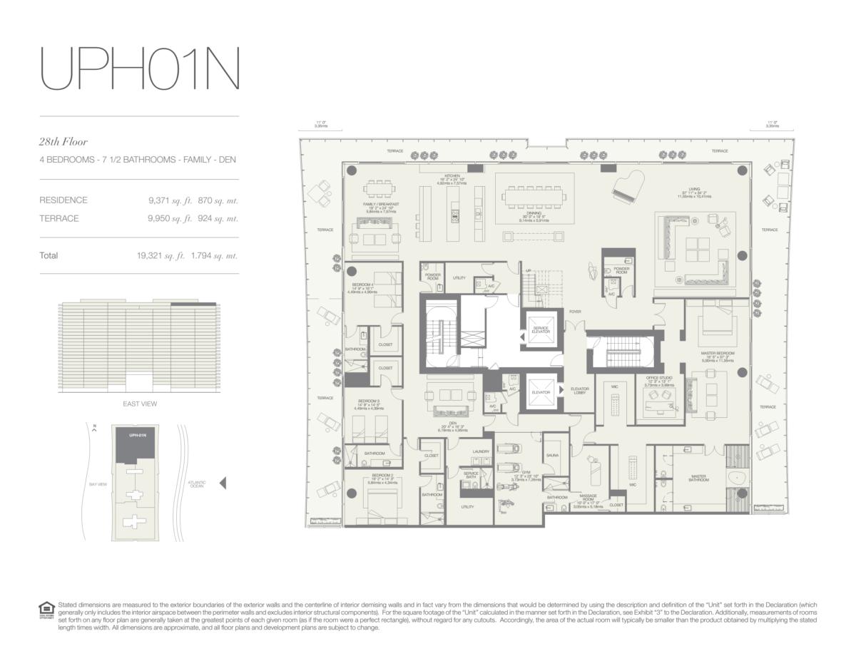 Oceana Bal Harbour - Floorplan 30