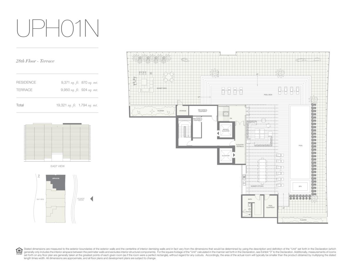 Oceana Bal Harbour - Floorplan 31