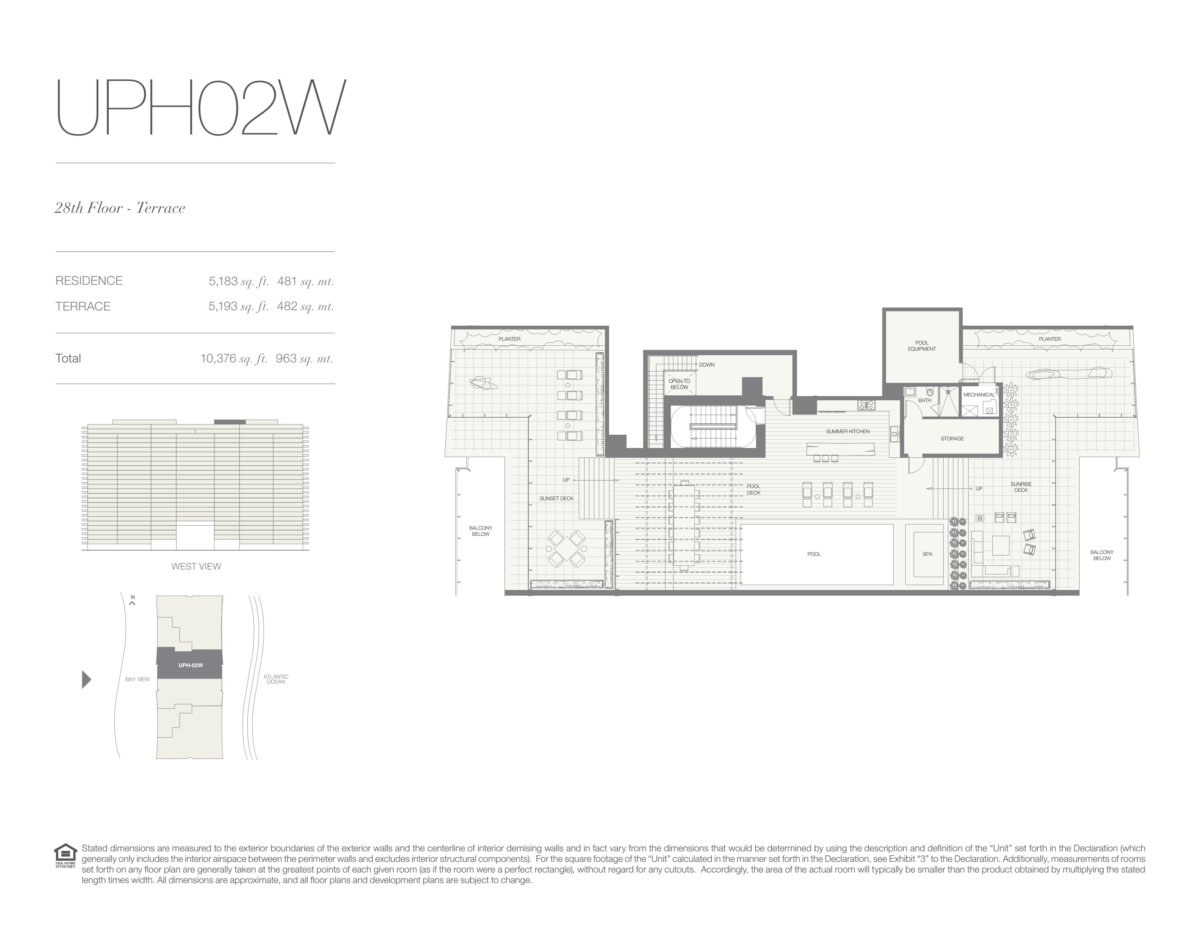 Oceana Bal Harbour - Floorplan 32
