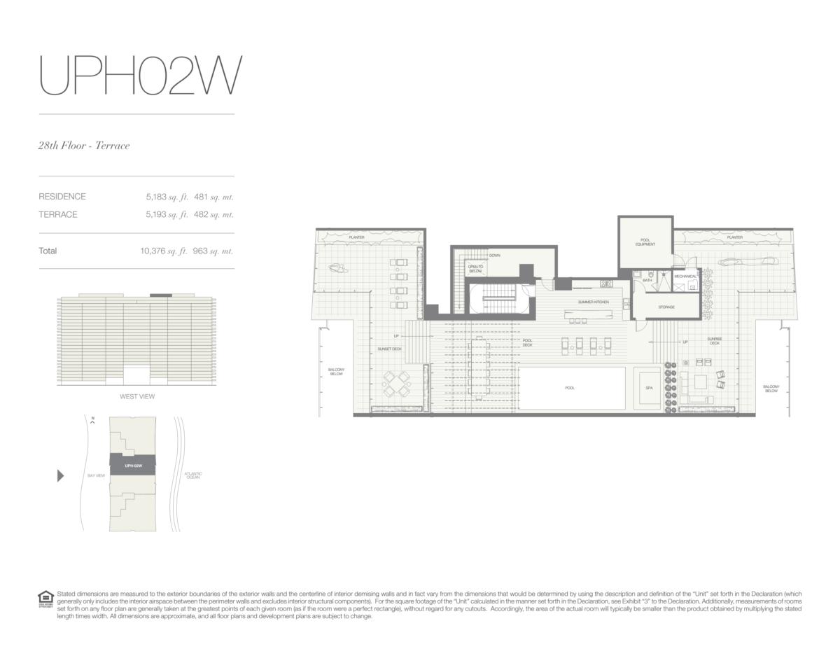 Oceana Bal Harbour - Floorplan 32