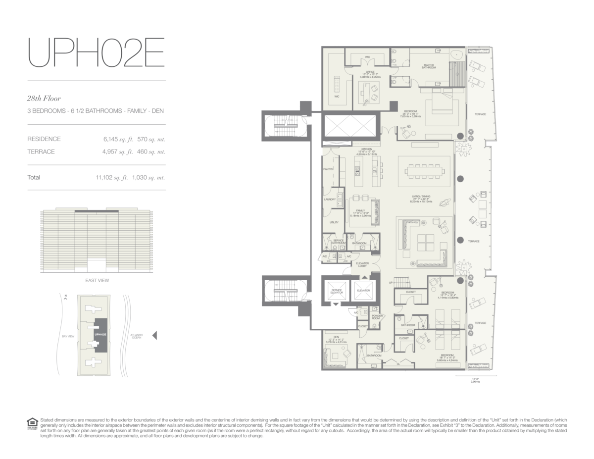 Oceana Bal Harbour - Floorplan 33