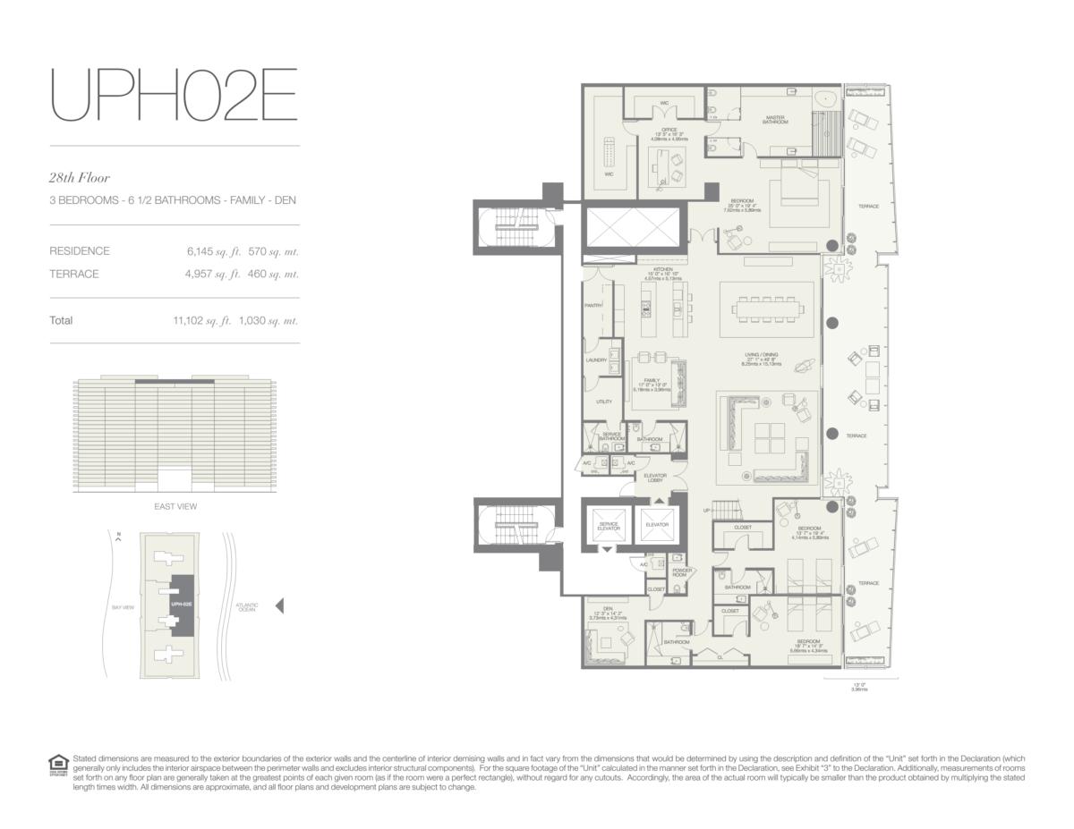 Oceana Bal Harbour - Floorplan 33