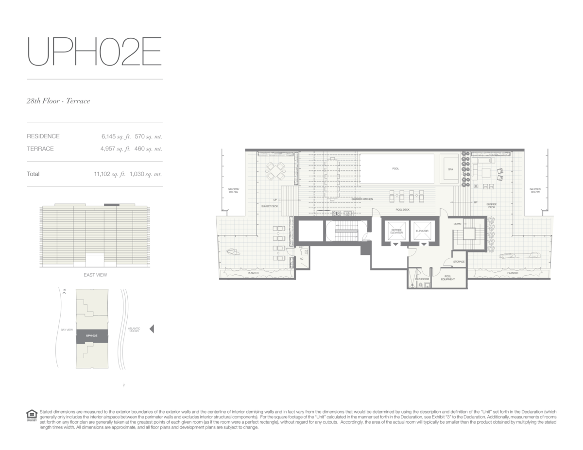Oceana Bal Harbour - Floorplan 34