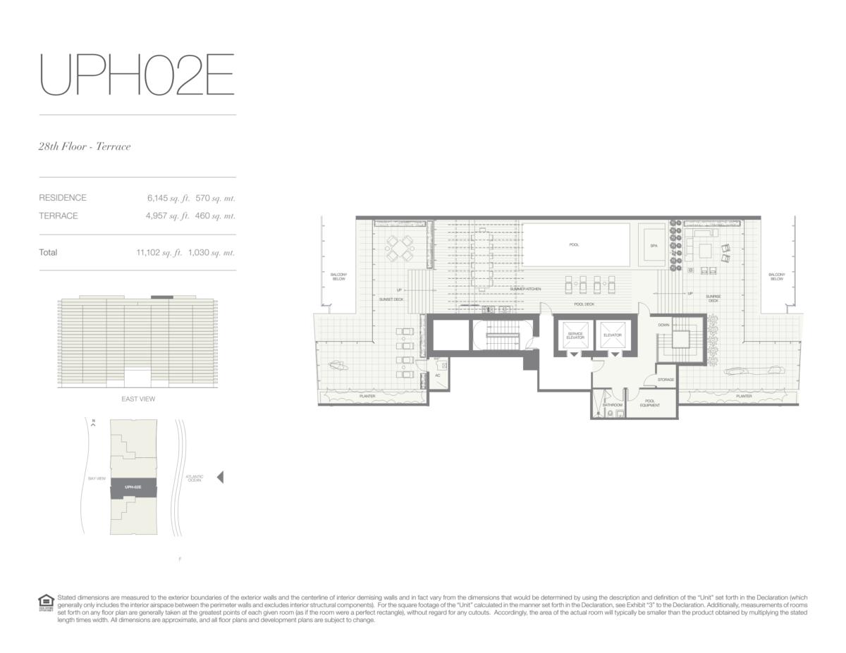Oceana Bal Harbour - Floorplan 34