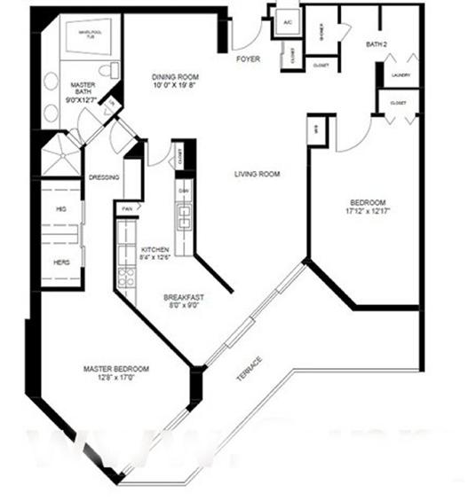 Oceania I - Floorplan 1