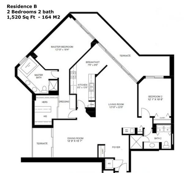 Oceania I - Floorplan 3