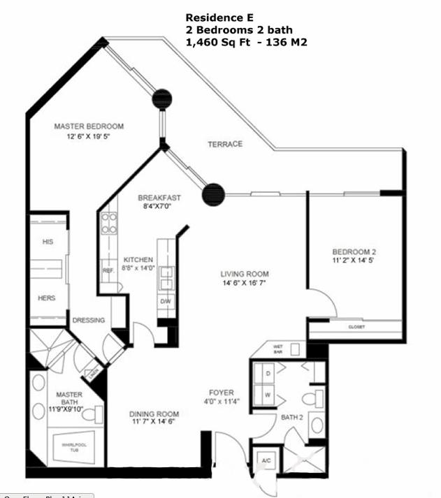Oceania I - Floorplan 5