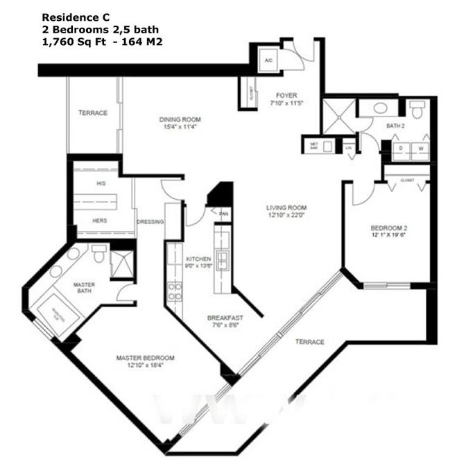 Oceania I - Floorplan 6