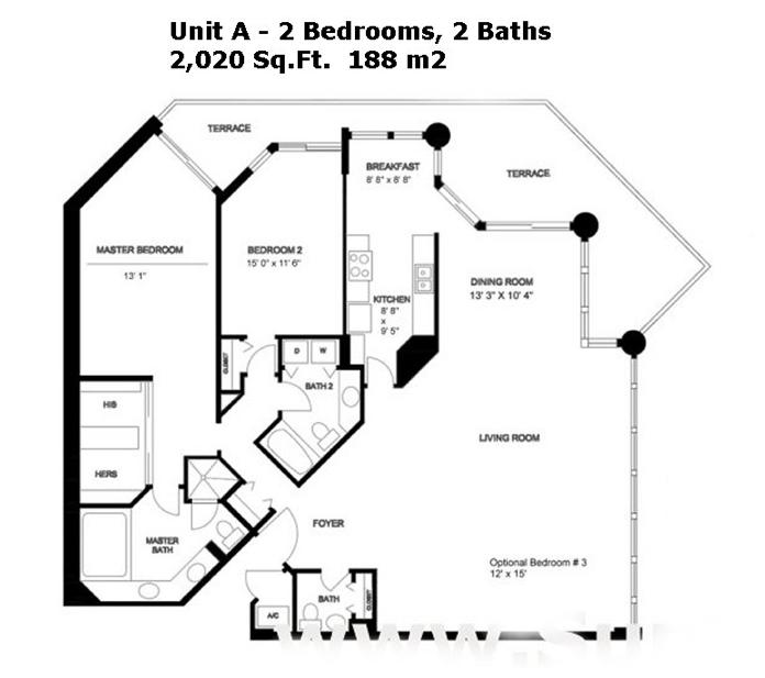 Oceania III - Floorplan 4