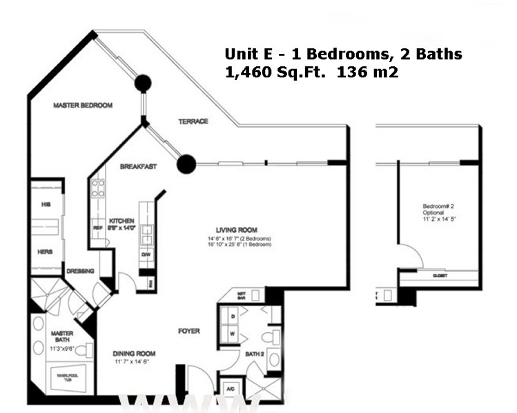 Oceania III - Floorplan 6