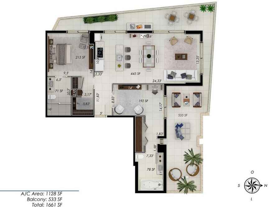 One by Tross - Floorplan 8
