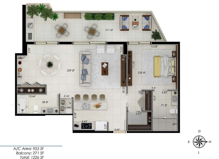 One by Tross - Floorplan 5