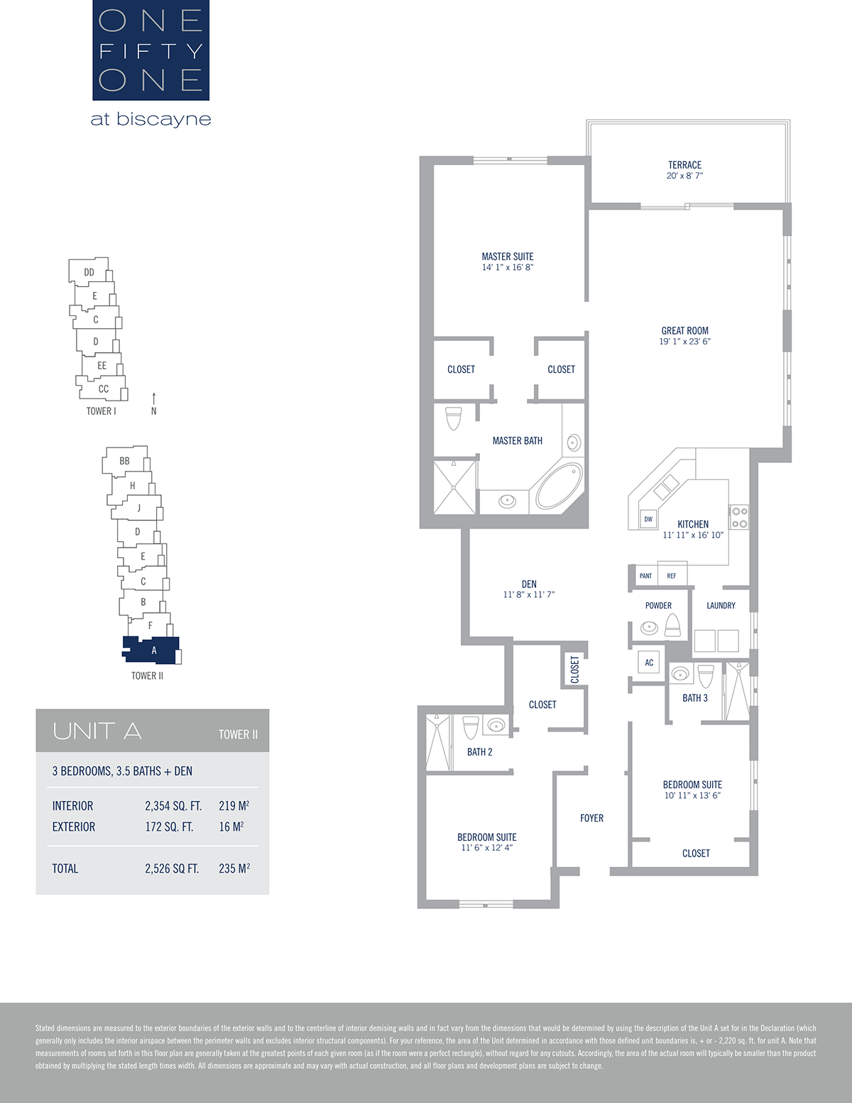 One Fifty One At Biscayne - Floorplan 2