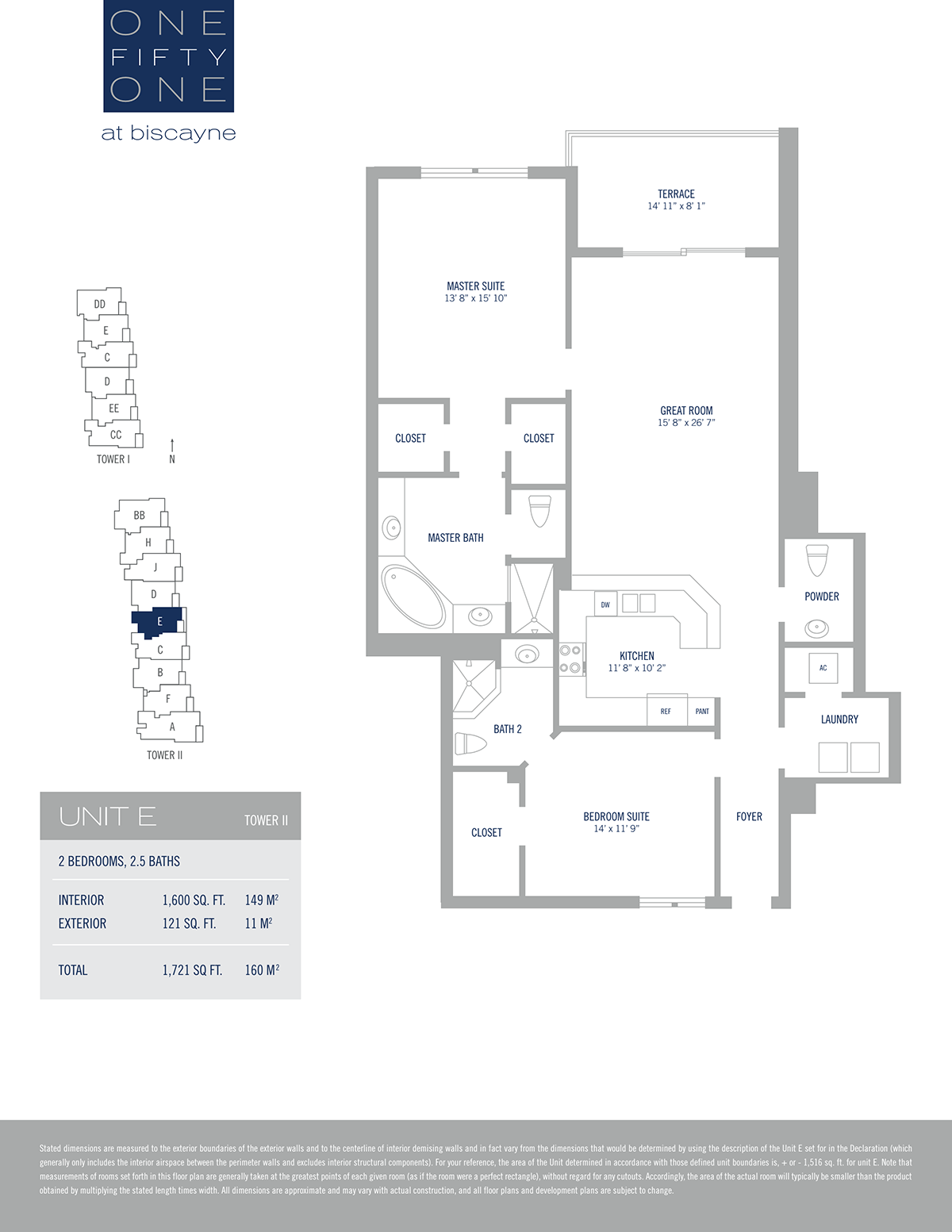 One Fifty One At Biscayne - Floorplan 7