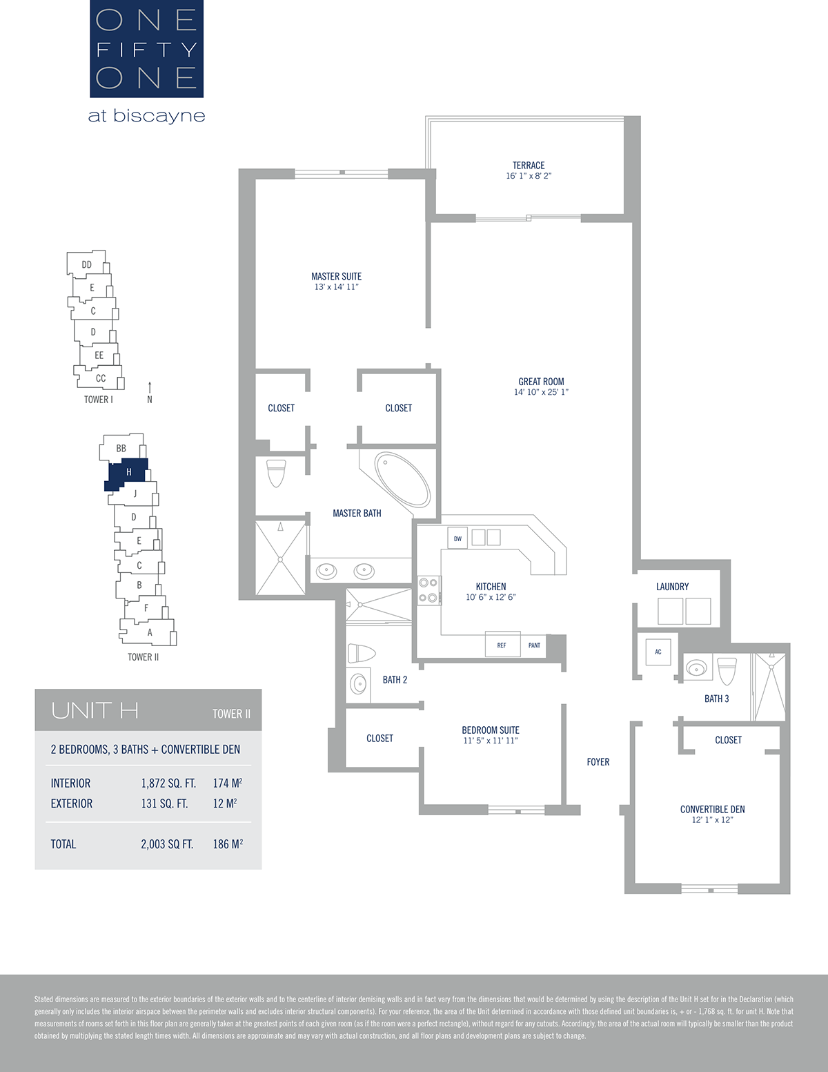 One Fifty One At Biscayne - Floorplan 8
