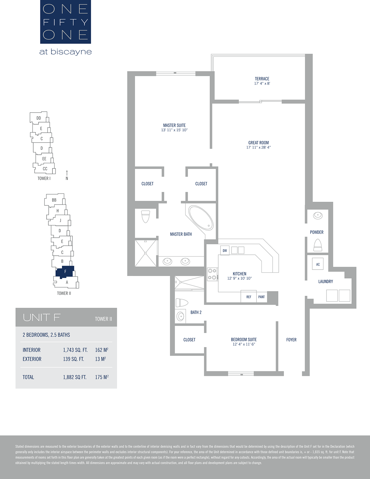 One Fifty One At Biscayne - Floorplan 9