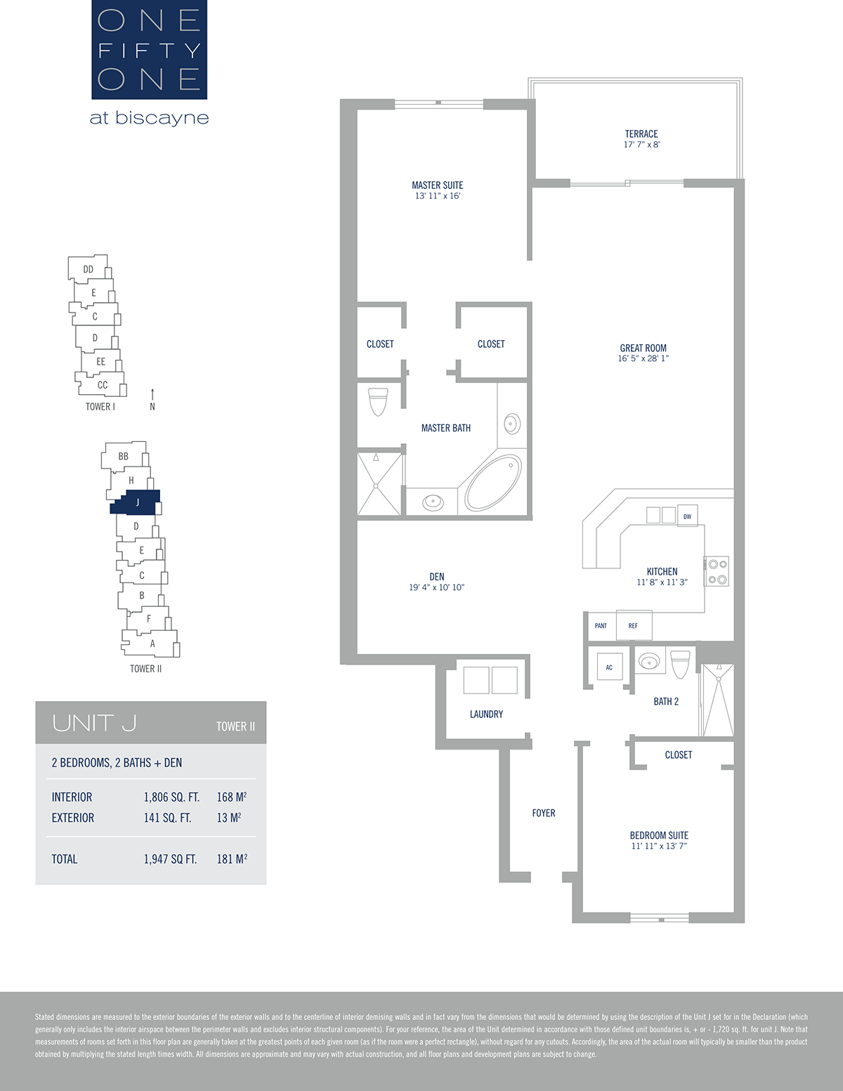One Fifty One At Biscayne - Floorplan 10