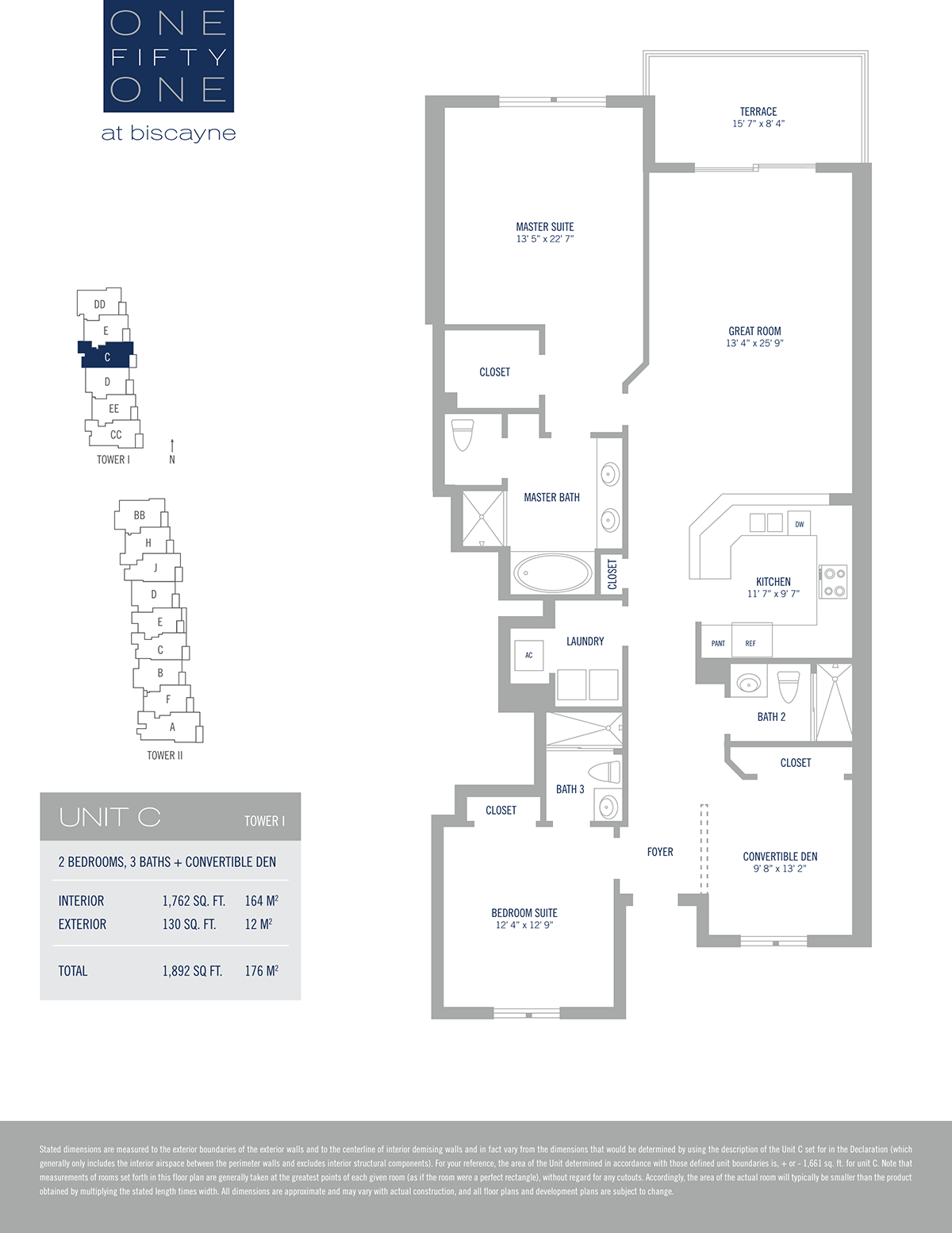One Fifty One At Biscayne - Floorplan 11