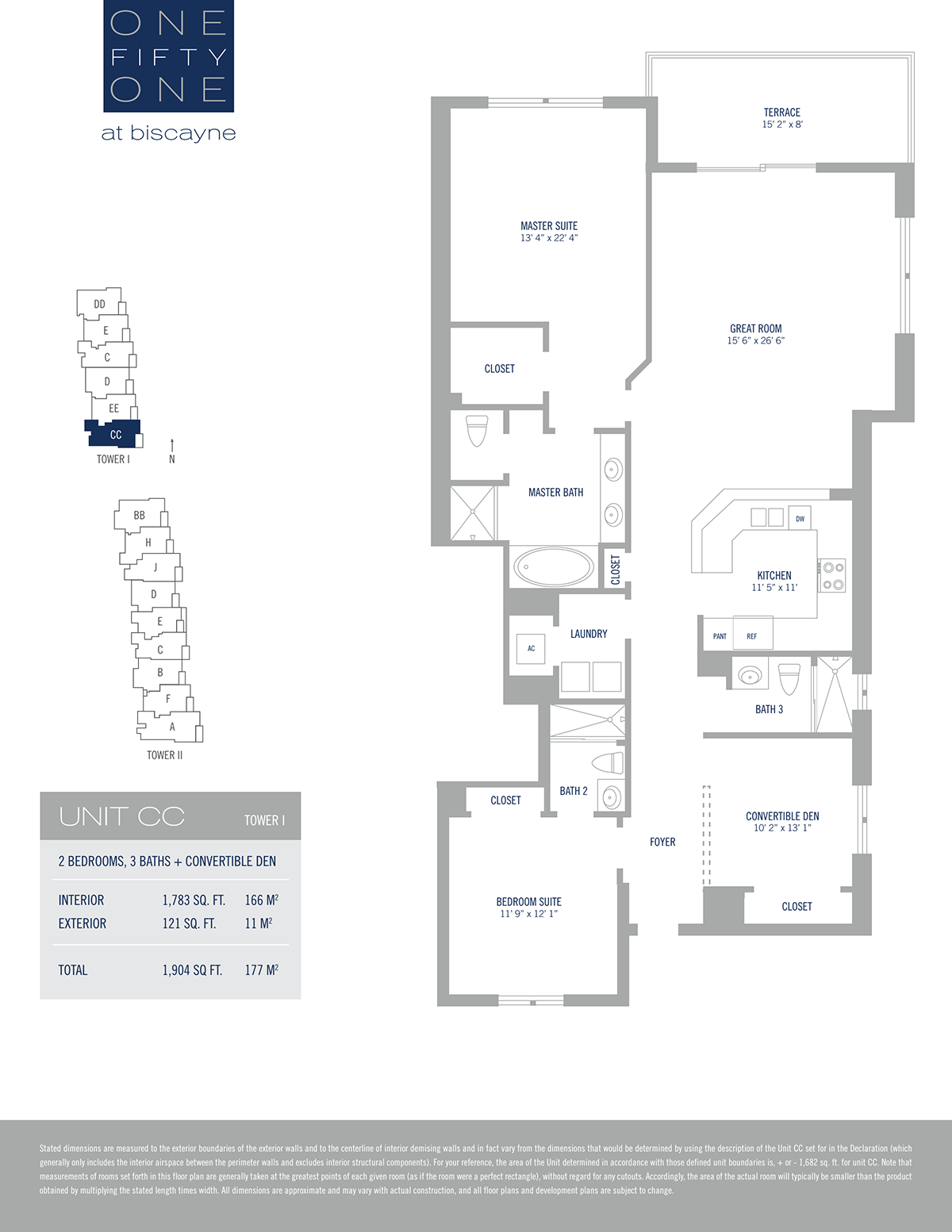 One Fifty One At Biscayne - Floorplan 12