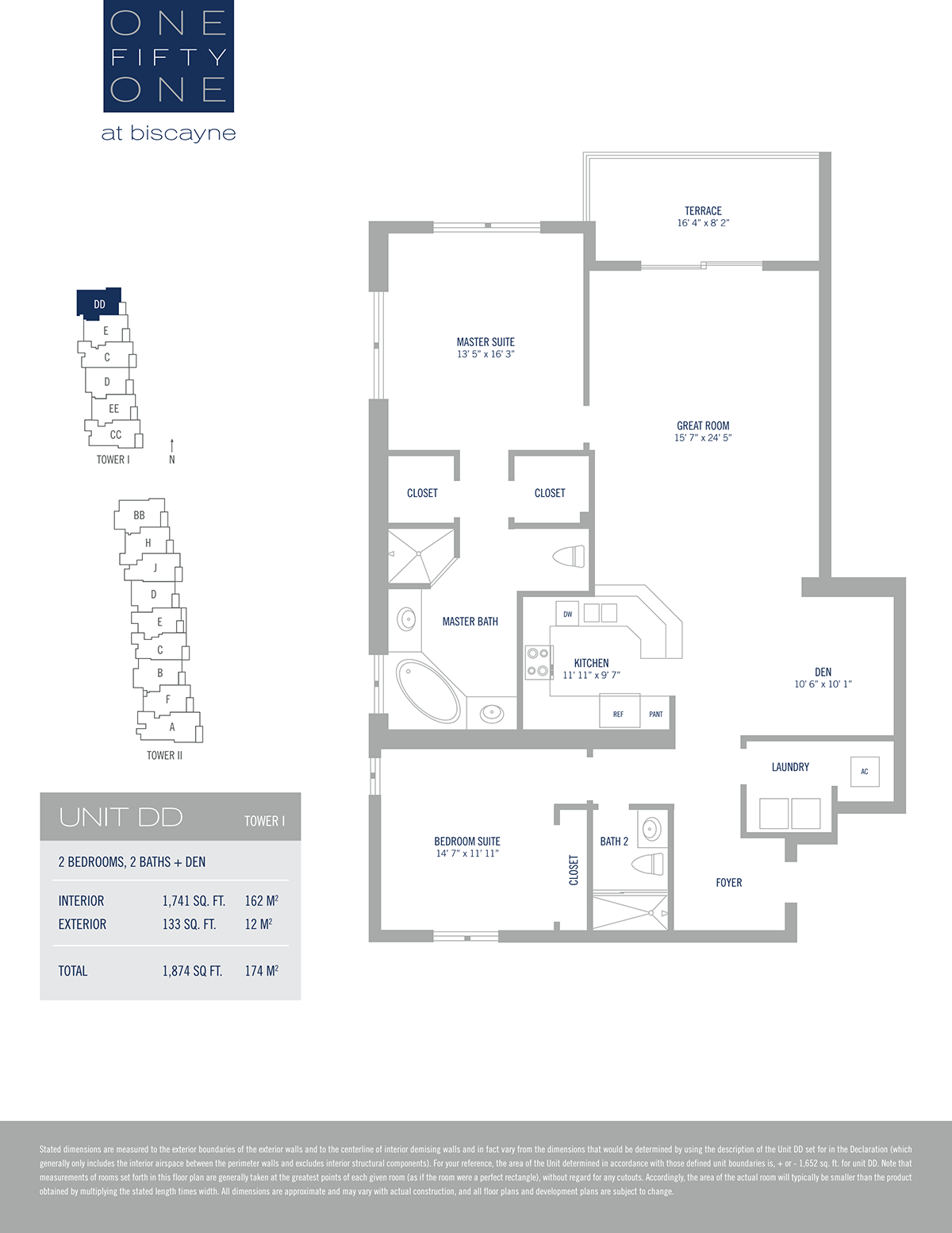 One Fifty One At Biscayne - Floorplan 15