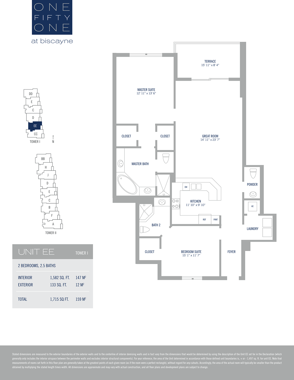 One Fifty One At Biscayne - Floorplan 16