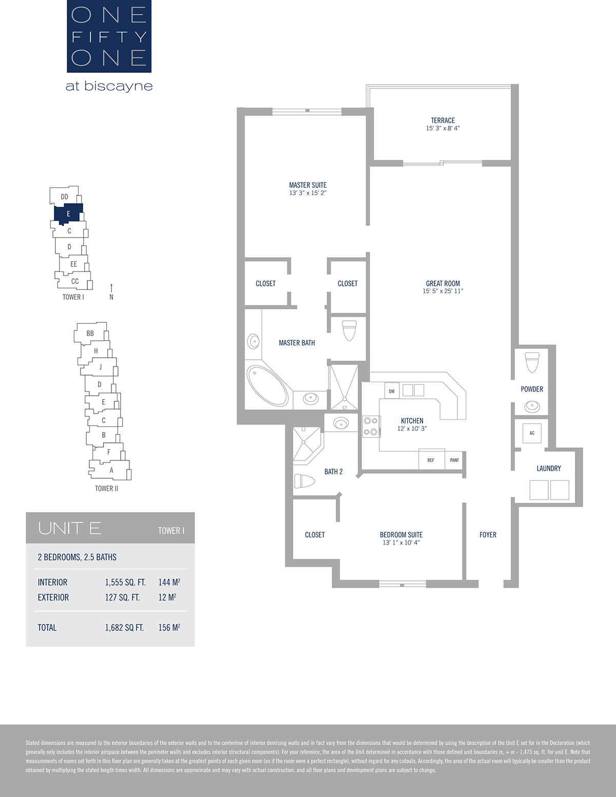 One Fifty One At Biscayne - Floorplan 17