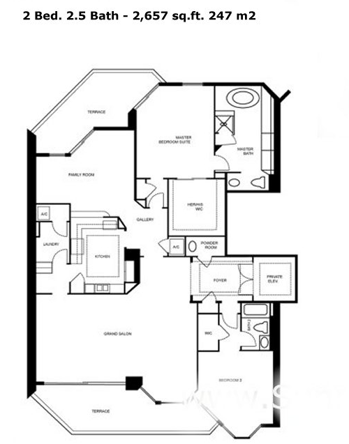 One Island Place - Floorplan 1
