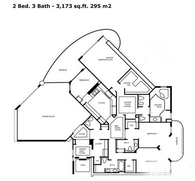 One Island Place - Floorplan 2