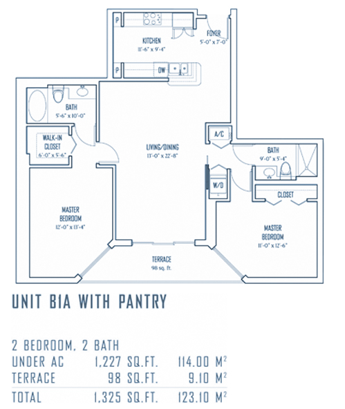 One Miami - Floorplan 5