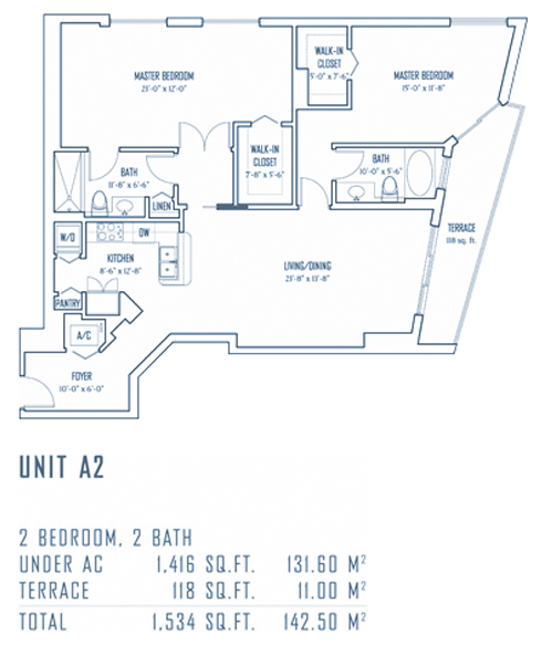 One Miami - Floorplan 8