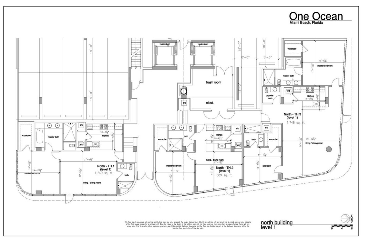 One Ocean - Floorplan 1