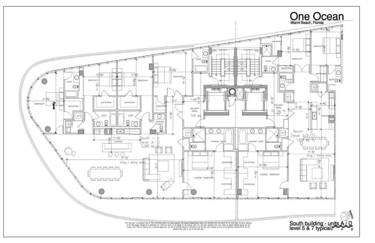 One Ocean - Floorplan 17