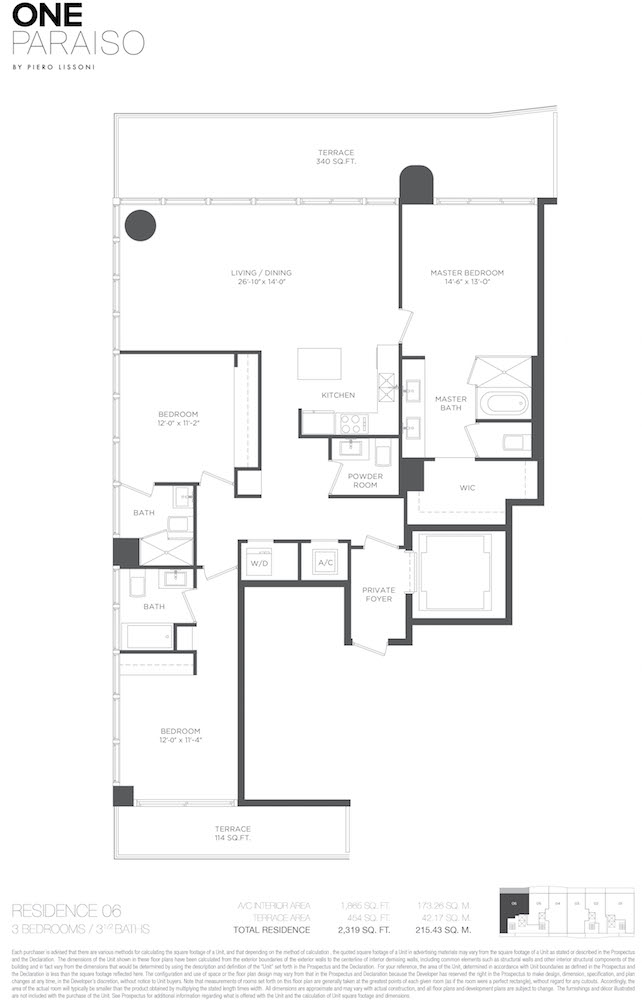 One Paraiso - Floorplan 2