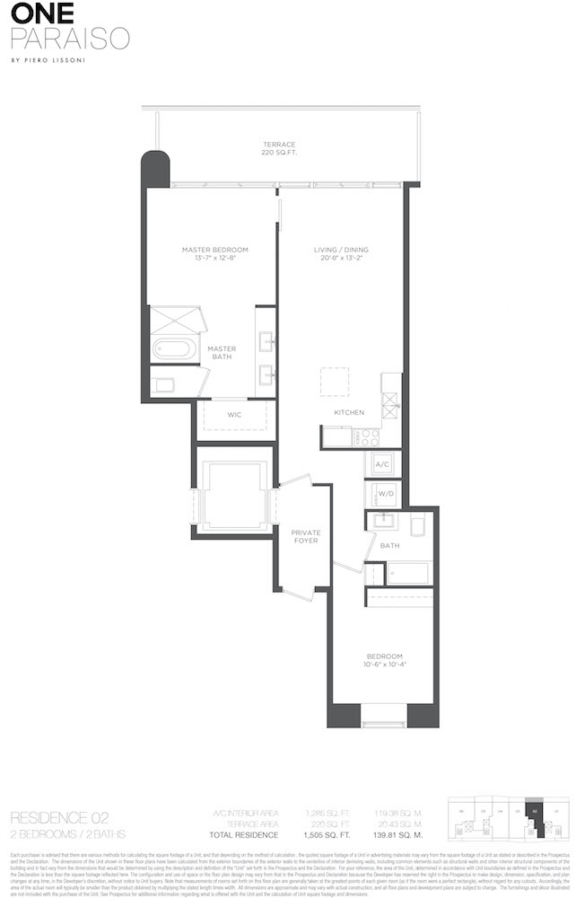 One Paraiso - Floorplan 3