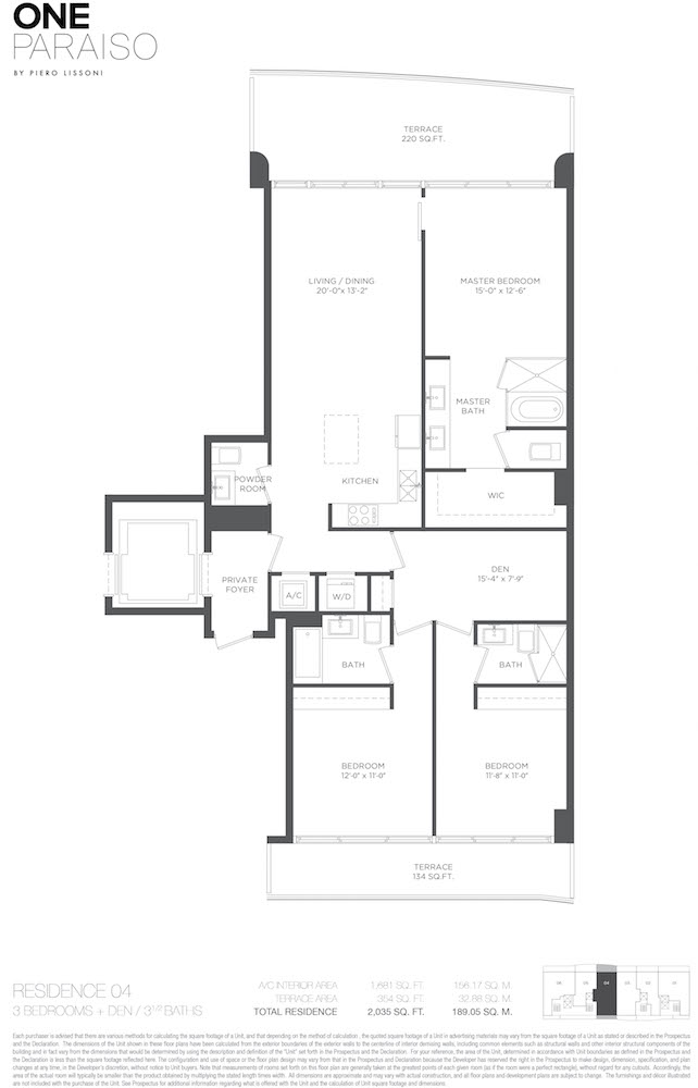 One Paraiso - Floorplan 5