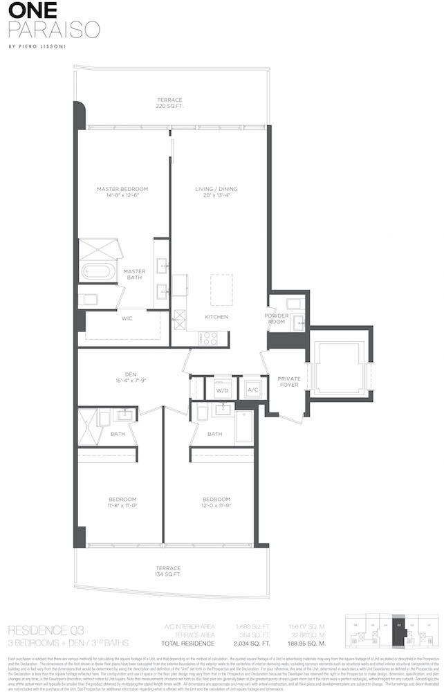 One Paraiso - Floorplan 6