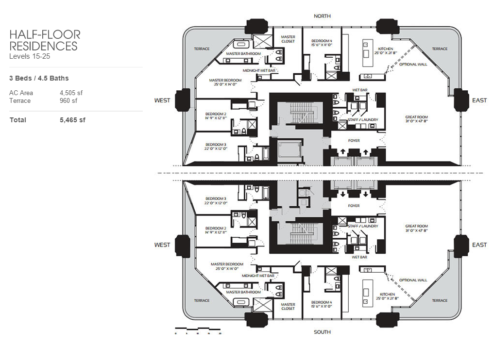 One Thousand Museum - Floorplan 2