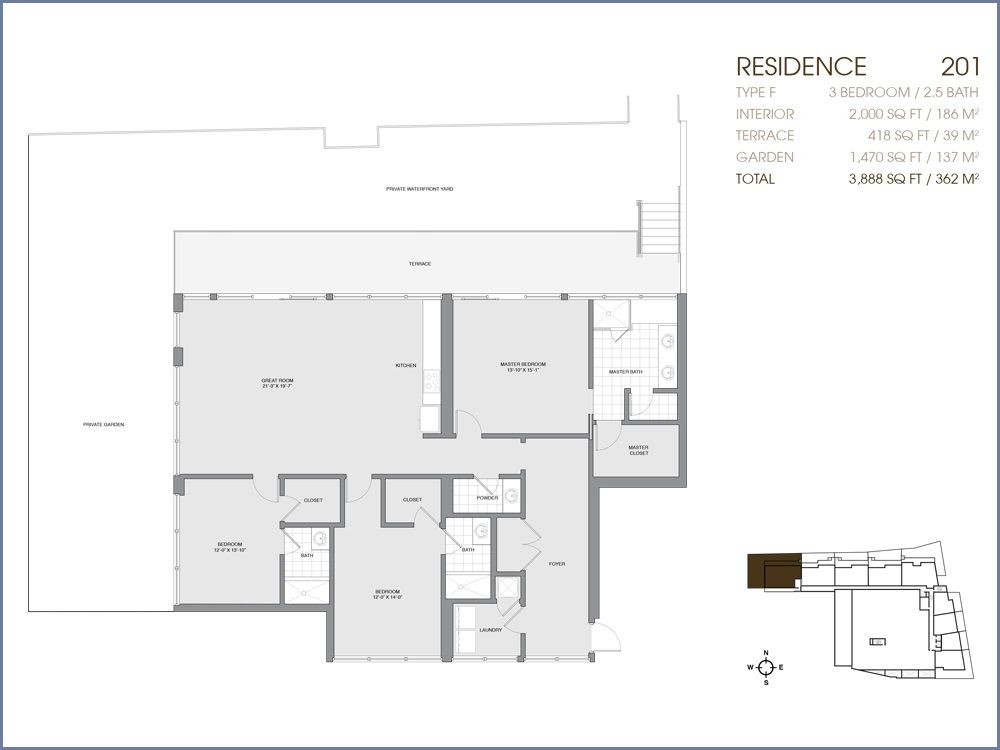 Palau Sunset Harbour - Floorplan 1