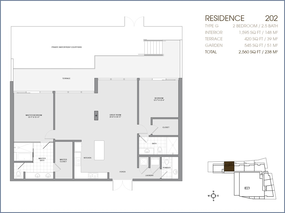 Palau Sunset Harbour - Floorplan 2