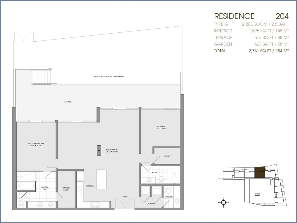 Palau Sunset Harbour - Floorplan 3