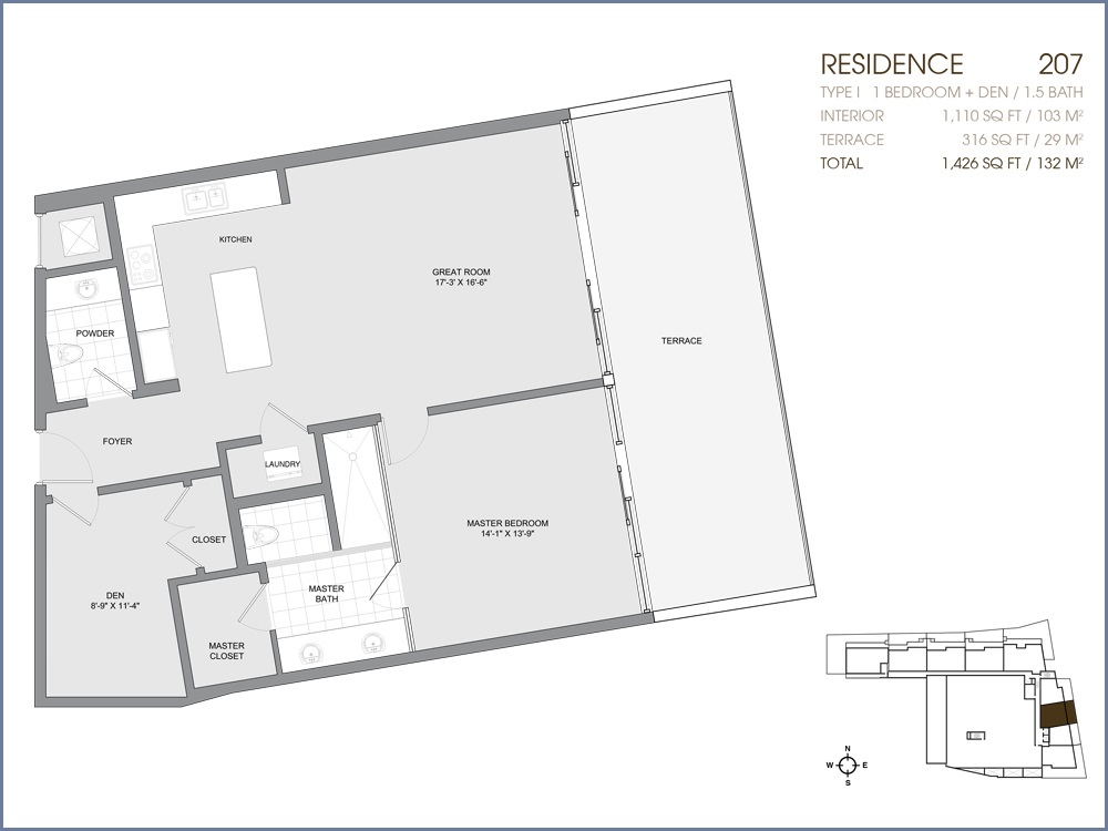 Palau Sunset Harbour - Floorplan 4