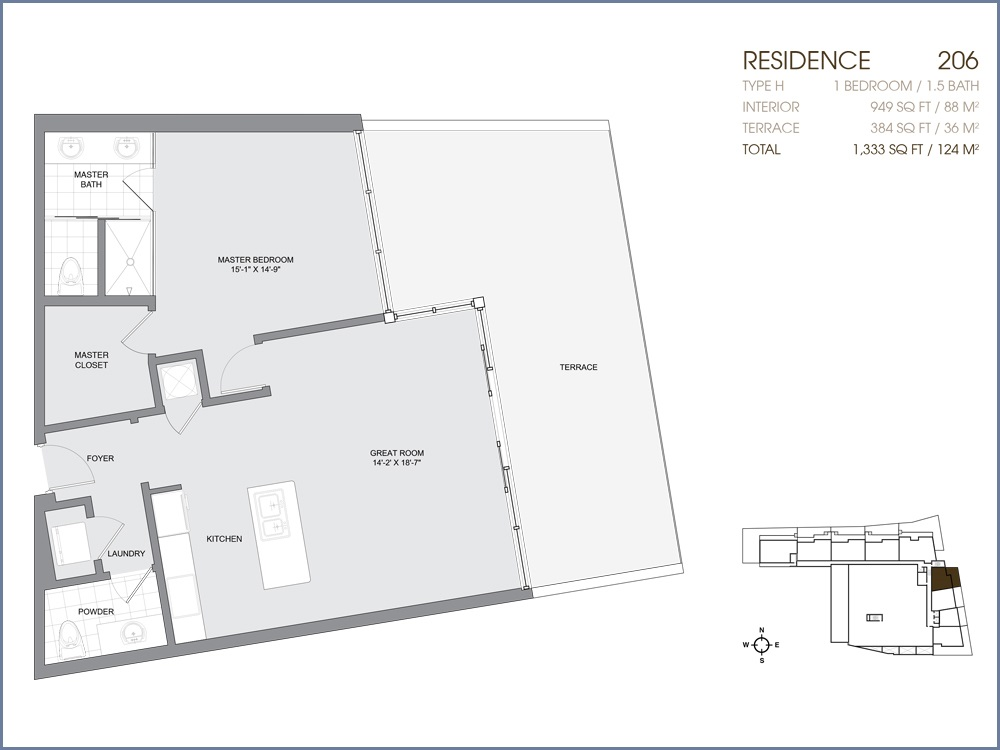 Palau Sunset Harbour - Floorplan 6