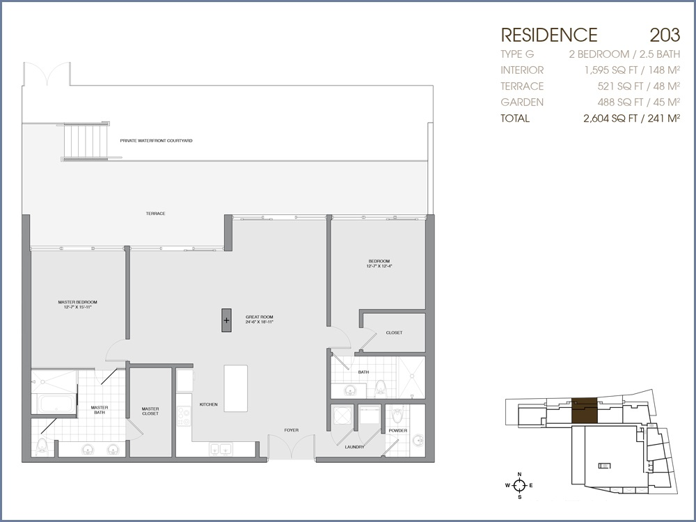 Palau Sunset Harbour - Floorplan 7