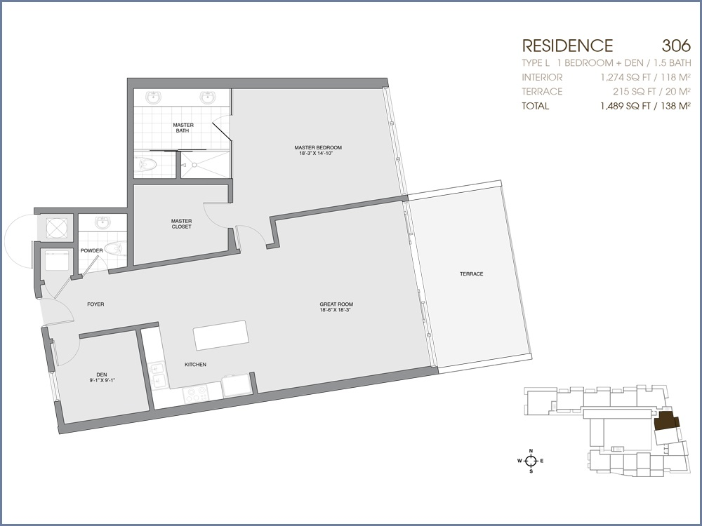Palau Sunset Harbour - Floorplan 13