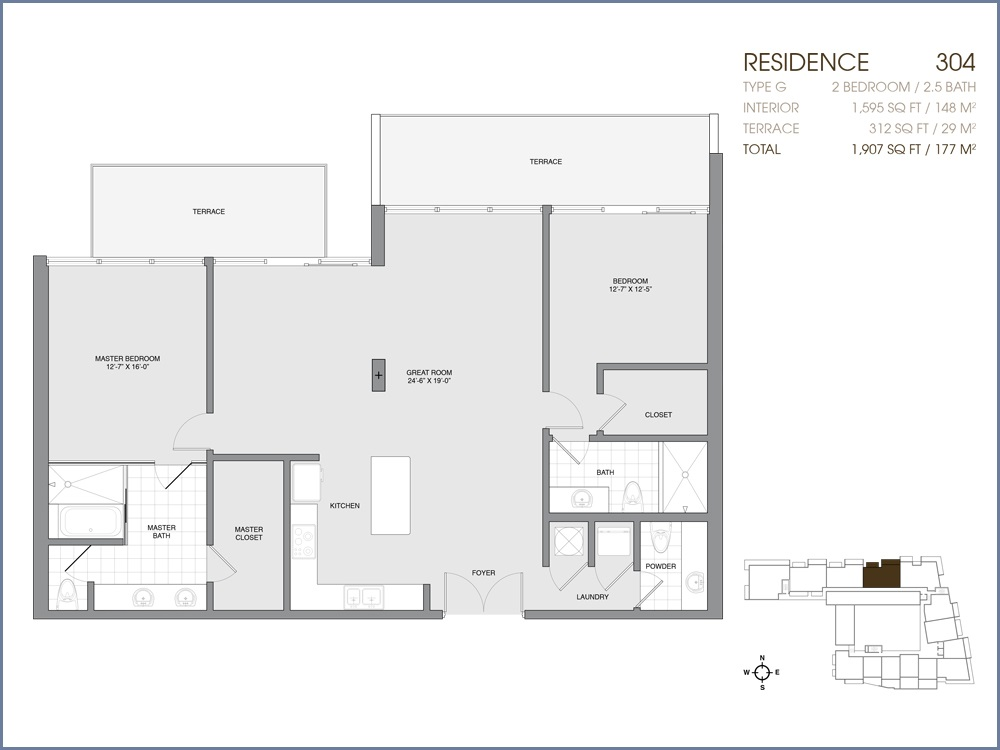 Palau Sunset Harbour - Floorplan 14